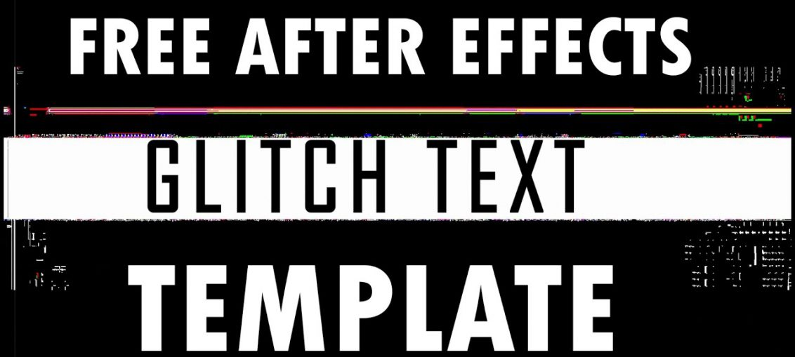 free after effects glitch text template free stock footage archive. Black Bedroom Furniture Sets. Home Design Ideas